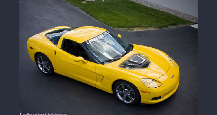 Lingenfelter Corvette C6 Supercharged Engine Package
