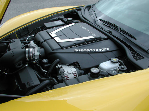Lingenfelter Corvette Edelbrock Supercharged Engine Package