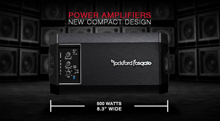 Rockford Fosgate 2014 Power Series Amplifiers