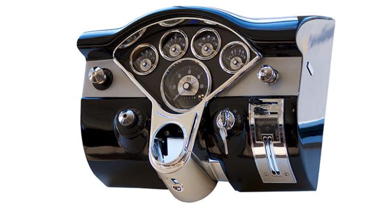 Auto Meter Chevy Bel-Air Gauge Mount