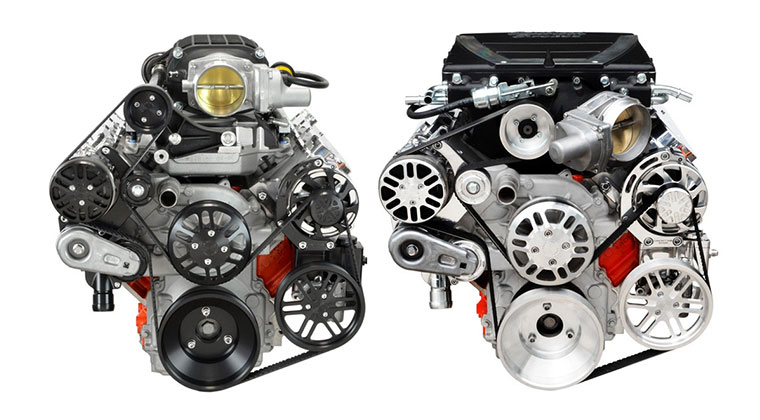 Concept One Serpentine Belt System For Ls Engines With