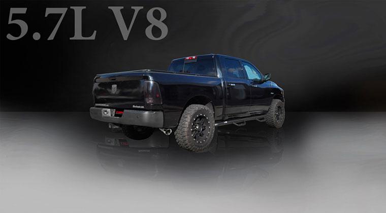 Corsa Performance Exhaust For 2009-2014 Dodge Ram 1500