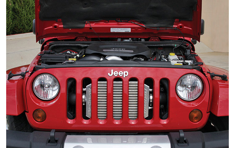 Jeep Wrangler Supercharger Kit