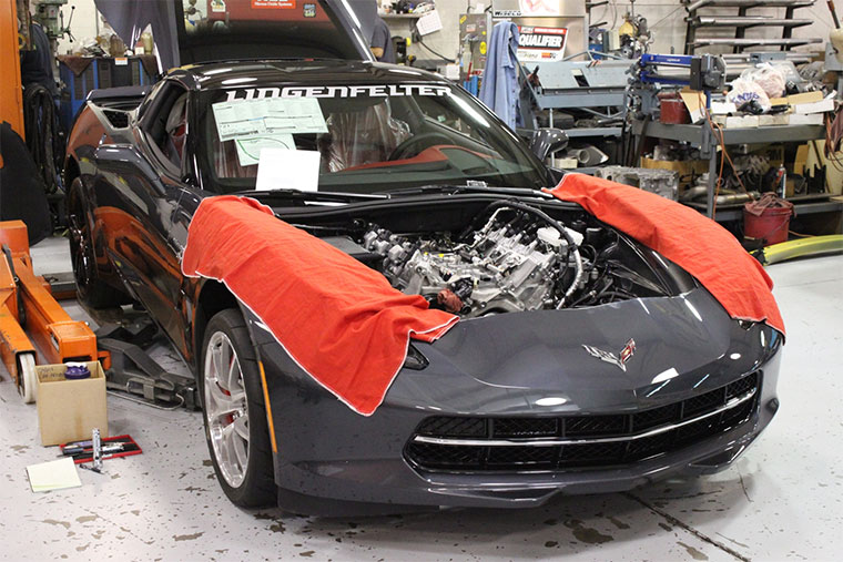 Lingenfelter 2014 Corvette Stingray Performance Upgrades