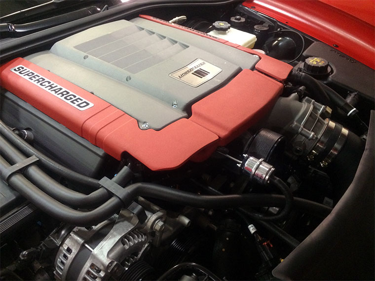 Lingenfelter 2014 Corvette Stingray Supercharger Kit