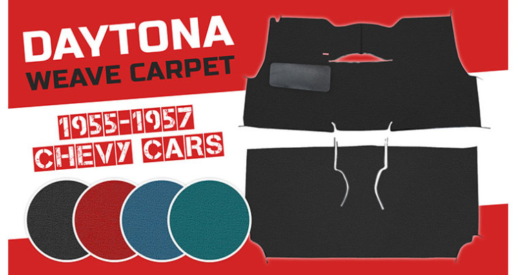 Trim Parts Daytona Weave Carpet for Chevy Tri-5s