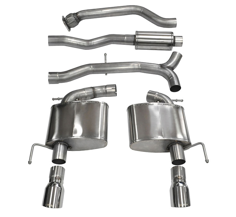 Corsa Performance Cat-Back Exhaust for Cadillac ATS 2.0L