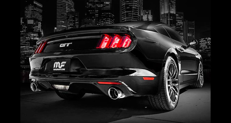 2015 Mustang MagnaFlow Cat-Back Exhaust