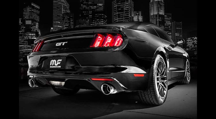 2015 Mustang MagnaFlow Cat-Back Exhaust