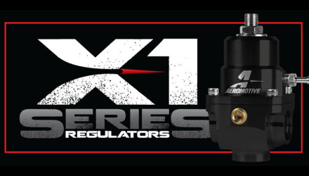 Aeromotive X1 Series Fuel Pressure Regulators