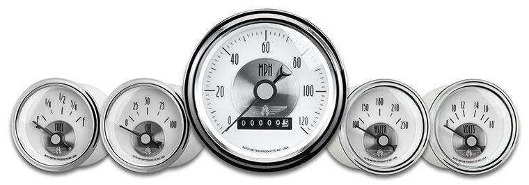 Auto Meter Prestige Pearl Gauges