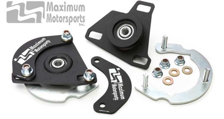 Maximum Motorsports 2015 Mustang Caster Camber Plates