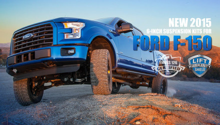 Pro Comp 6-Inch Suspension Systems for 2015 Ford F-150