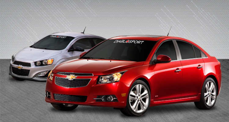 2011-2015 Chevy Sonic or Cruze with a 1.4L Turbo DiabloSport Tuner