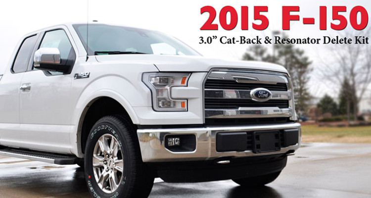 Corsa Performance 2015 Ford F-150 Exhaust Kit