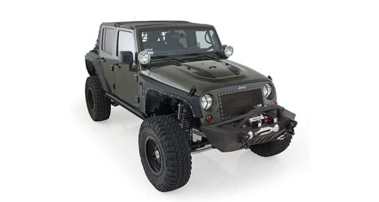 Smittybuilt Stingray Jeep Wrangler Hood