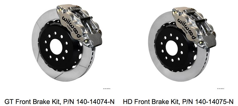 Wilwood 1998-2002 Camaro and Firebird Big Brake Upgrade