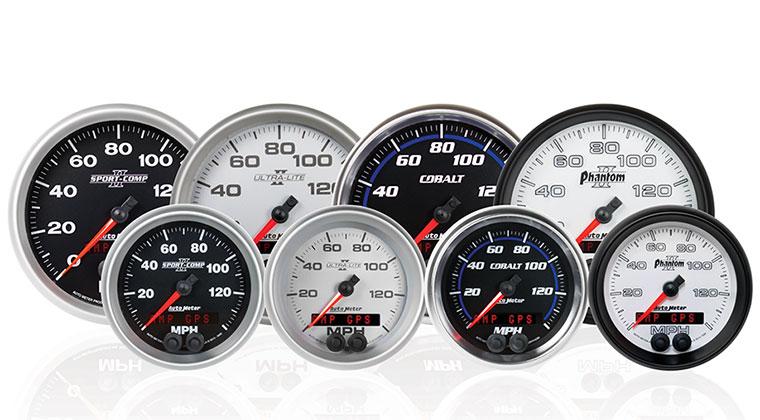 Auto Meter LED GPS Speedometers | Motorator