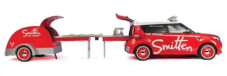 SEMA Show Kia Ice Cream Truck