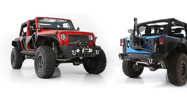 Smittybilt Jeep JK XRC Off-Road Bumpers and Accessories