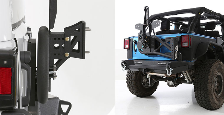 Smittybilt XRC Jeep JK Tire Carrier