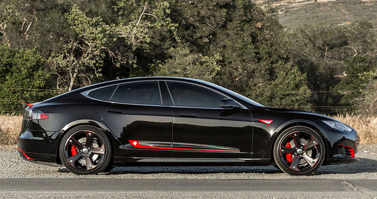Tesla Model S Carbon Fiber Body Kit