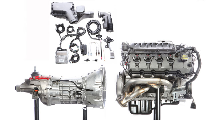 Ford Coyote Power Module Engine and Transmission Packages