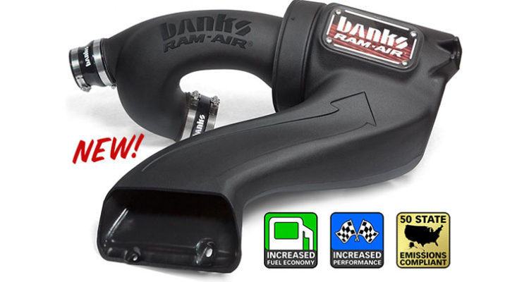 Banks 2015-2016 Ford F150 Ecoboost Cold Air Kit