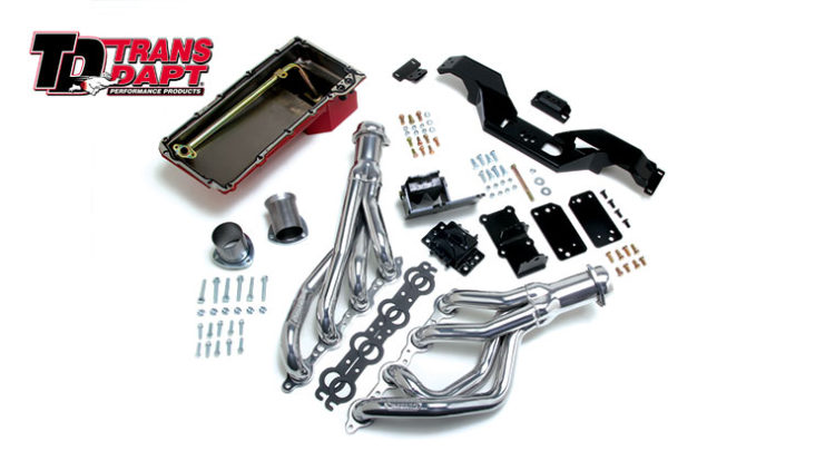 Trans Dapt's LS Swap-in-a-Box kit for 1967-1969 or 1970-1981 GM F-Body