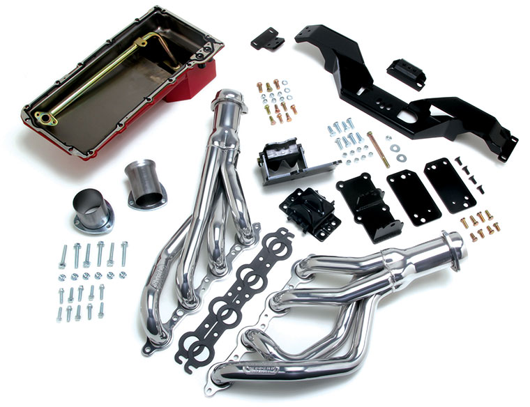 Trans-Dapt 1967-1981 Camaro Firebird LS Engine Swap Kit