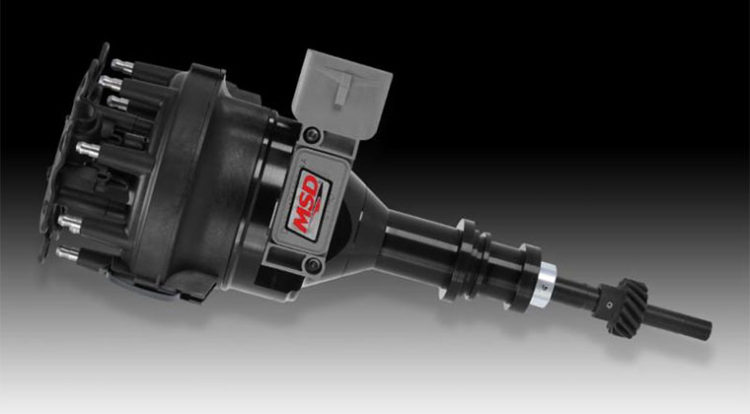 Ford 5.0L MSD Black Pro Billet Distributor