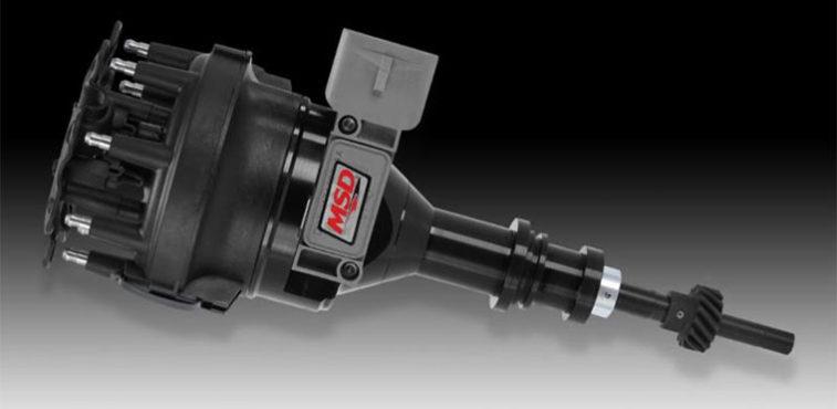 Ford 5.0L MSD Black Pro Billet Distributor