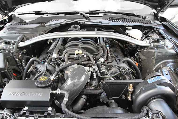 Shelby GT350 Supercharger