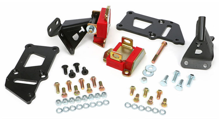 Trans-Dapt's LS Swap Motor Mount Kit for 1955-1957 Chevrolets