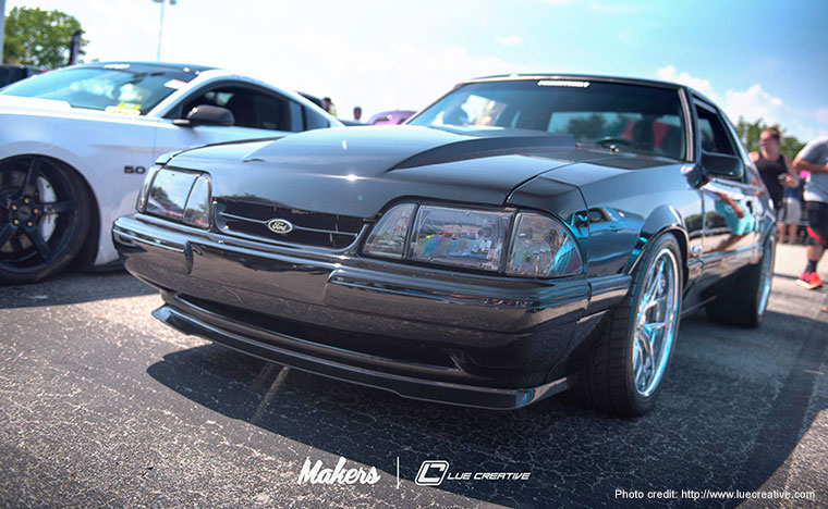 Fox Body Mustang Carbon Fiber Splitter