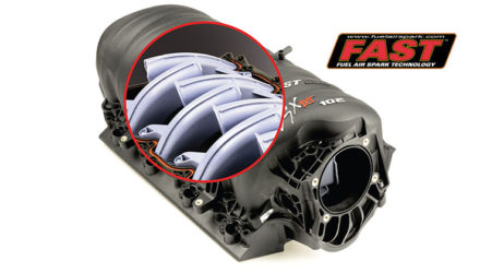 FAST LSXRT 102mm LS3 High HP Runner Intake Manifold