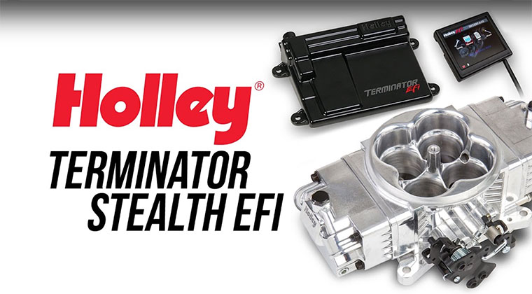 Holley Announces All-New Terminator Stealth EFI | Motorator