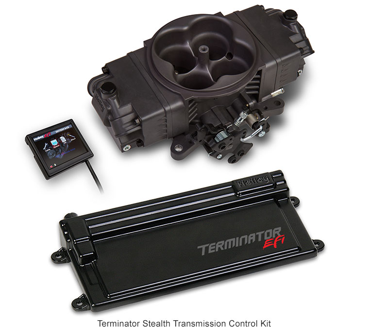 Holley Announces All-New Terminator Stealth EFI | Motorator