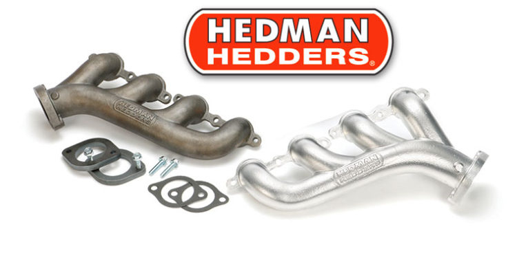 Hedman Hedders LS Swap Cast Iron Exhaust Manifolds