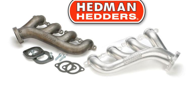 Hedman Hedders LS Swap Cast Iron Exhaust Manifolds