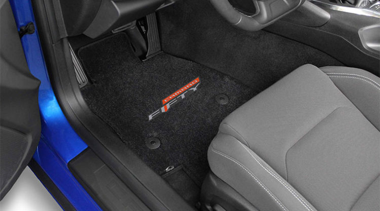 Lloyd Mats' GM-licensed 50th Anniversary Camaro Floor Mats
