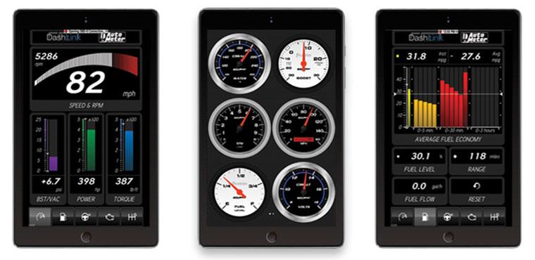 AutoMeter DashLink ODB II Virtual Dashboard