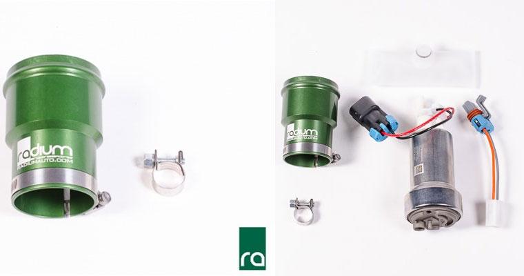 Radium Porsche 996 997 Fuel Pump Upgrade