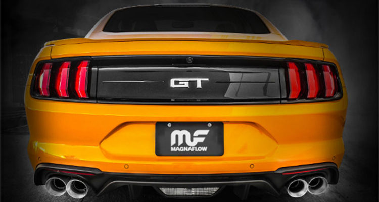 2018 Ford Mustang Cat-Back Exhaust