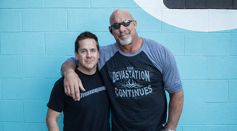 Bill Goldberg and Matt D'Andria Motorator