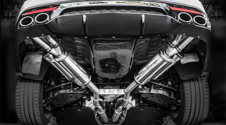 2018 Kia Stinger MagnaFlow Cat Back Exhaust
