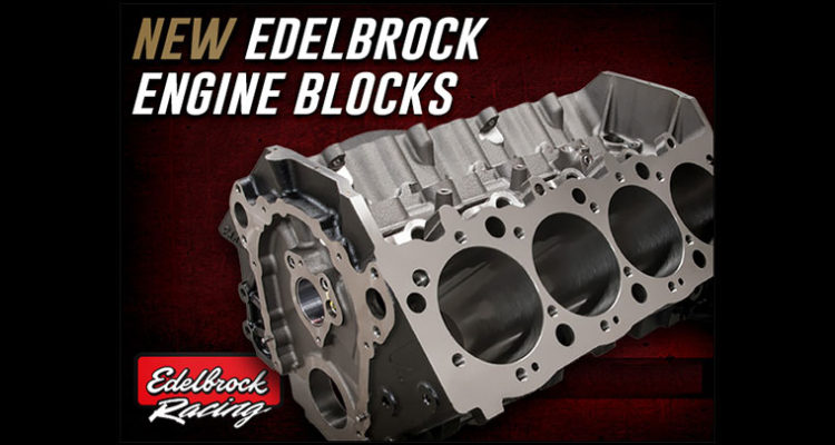 Edelbrock Engine Block