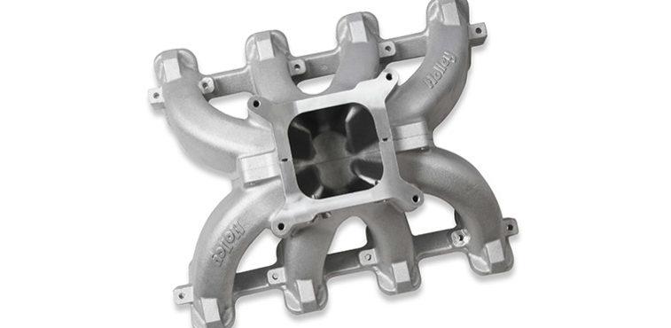 Holley Single Plane Split-Design Race Intake Manifolds for LS Engines
