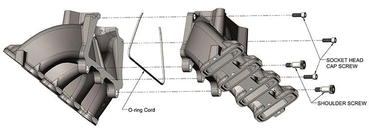 Holley GM LS Intake Manifold
